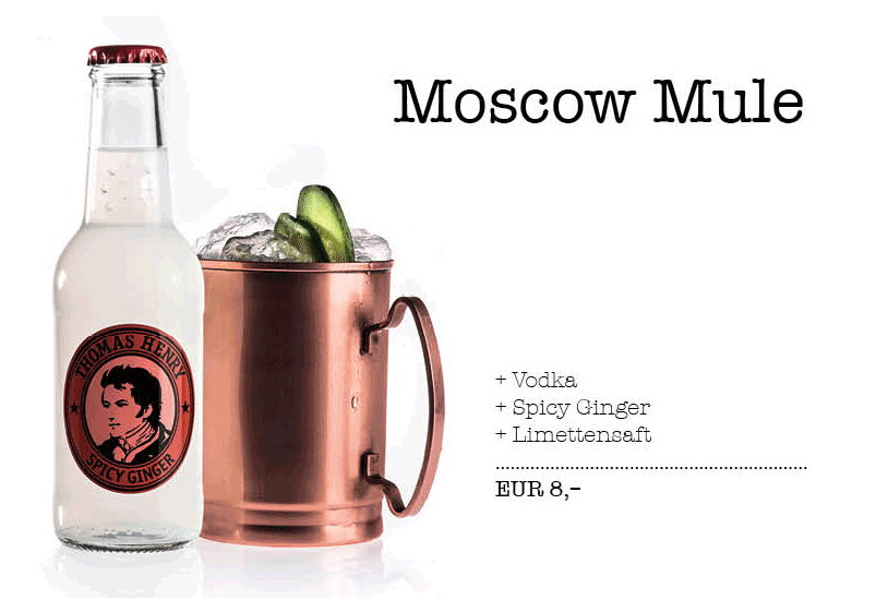 Thomas Henry moscow mule